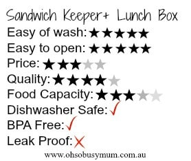 Sandwich Keeper + Star
