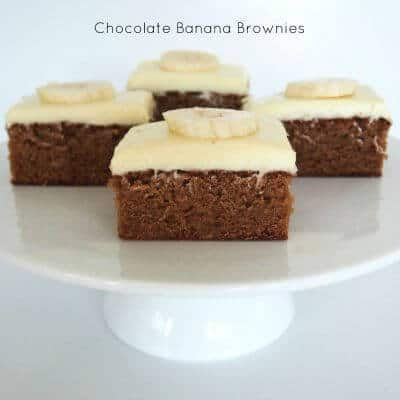 Chocolate Banana Brownies Easy Pizza Bites Baked Pikelet Muffins