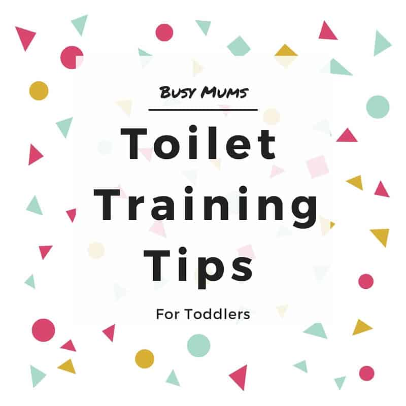 Busy Mums Toilet Training Tips