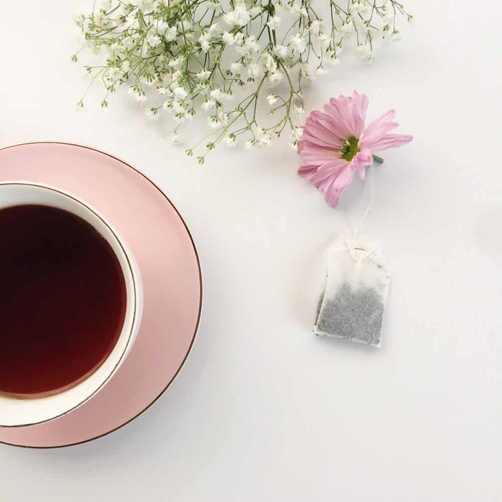 Flower Tea Bags Diy Oh So Busy Mum