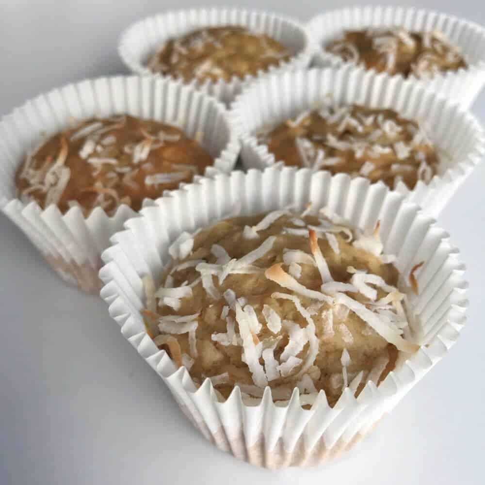 Healthy Coconut and Banana Muffins - VITASOY
