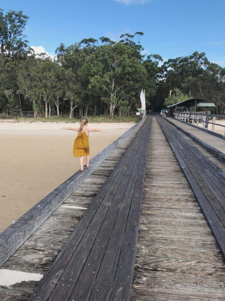 KING FISHER BAY RESORT, FRASER ISLAND