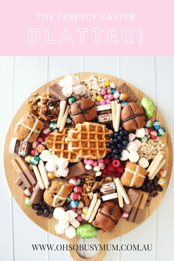 The perfect chocolate Easter grazing platter!