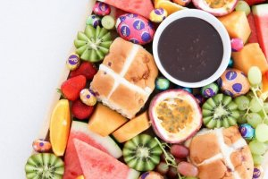 Stay At Home Easter Grazing Fruit Platter