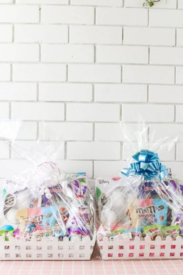 How to make an Easter basket for kids.